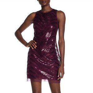 NWT Vince Camuto Sequin Sheath Dress Sz 8